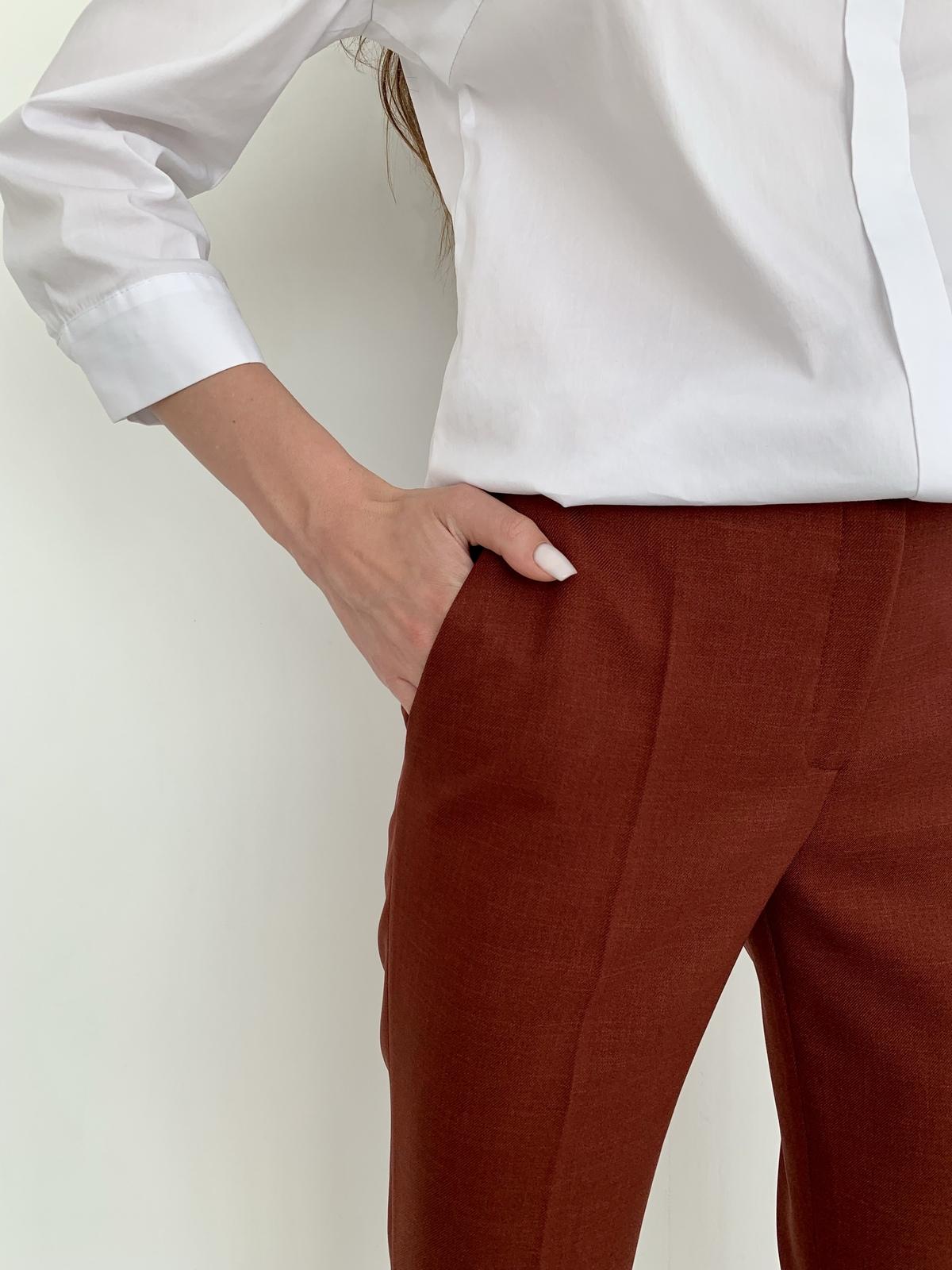 длинные брюки в школу